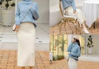 毛衣+針織半身裙,冬天內搭這樣穿最美了!