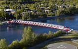 全世界最敗家的橋,僅126米就花費將近2億,卻被評為世界工程奇蹟
