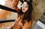 女人不一定要漂亮但要洋氣,穿這樣的長袖雪紡衫上衣,更有女人味