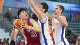 (大運會)籃球——男籃:中國隊獲得第十四名