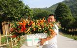 不願在外活得像孫子,陝西4旬男子回鄉種百畝花卉,年收入達百萬