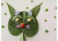 幼兒園作業樹葉畫,幫你整理了,週末和孩子一起做!