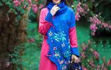 原創設計邂逅民族風刺繡連衣裙,給單調的秋冬增添一份明豔與溫婉