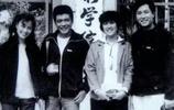 1980年大明星們的合影照,李連杰那時候真的很帥!