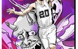 NBA球星動漫圖,讓你感受一下不一樣的NBA