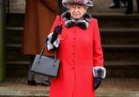 92歲伊麗莎白女王,任性又可愛,雨傘和衣服必須是同一顏色