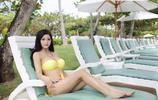 日本混血女神林美惠子度假,網友:太美了