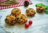 海苔肉鬆小貝——最近超火的網紅蛋糕,在家也能做啦