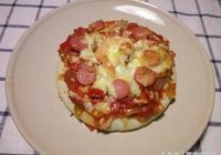香酥好吃的披薩:芝心披薩!