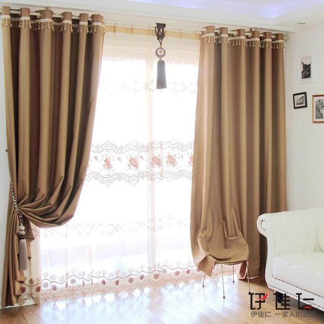 還在擔心窗簾遮光嗎?看,來看看這四款全遮光窗簾