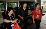 國際田聯鑽石聯賽上海站 謝震業、王宇、鞏立姣等運動員抵達酒店