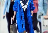 別看譚鬆韻長的矮,搭配衣服的能力是真的好,穿什麼都像超模!