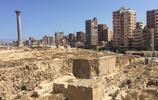 來到埃及旅遊 龐貝柱已經成為亞歷山大的主要景點屹立不倒在山上