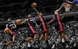 圖看NBA四大扣將穿西裝扣籃,威少姿態飄逸,格里芬霸氣威武