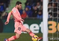 梅西4連斬新年首球率巴薩甩皇馬10分 16球壓C羅2球領跑歐洲金靴