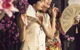 各路明星旗袍秀,紫霞仙子朱茵穿上旗袍是那麼的美麗