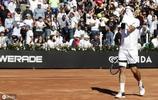 羅馬舉行的意大利網球錦標賽的第二輪比賽.