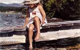美國現實主義水彩畫家Steve Hanks精美水彩畫
