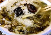 雪菜香菇肉絲麵