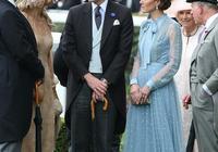 凱特王妃這次放大招!穿2萬7藍色半透明蕾絲裙亮相仙氣十足太少女