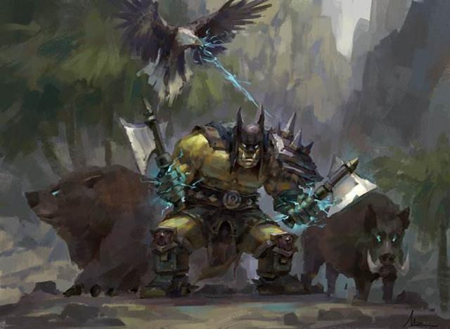 魔獸世界:聊聊魔獸世界中的混血英雄