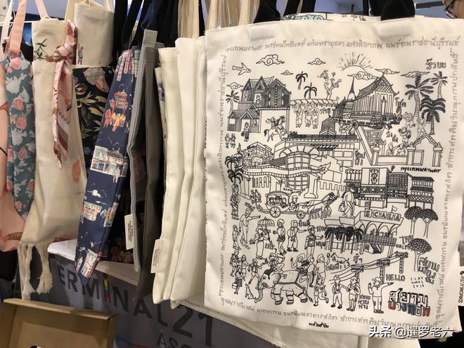 """逛曼谷網紅商場""""Terminal 21"""",花250泰銖買個布包,您說值不?"""