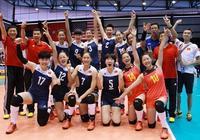 中國女排再勝美國!比分都是3-2!19歲蔡曉晴成為得分王