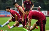 金亨鎰,徐新與榮昊齊歸隊 恆大踩場訓練氛圍佳