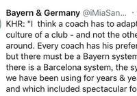 魯梅尼格:歐冠是拜仁的基準,科瓦奇要適應球隊