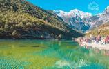 我的旅行日記 遊麗江玉龍雪山 朝至此 宛如仙境