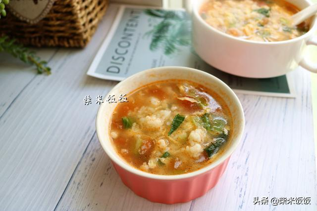 做疙瘩湯,別再用水和麵了!這樣做,疙瘩爽滑筋道,吃不夠!