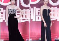 國劇盛典:秦嵐和董潔同穿抹胸長裙,她們真的是快40歲人嗎?