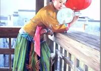 「美圖欣賞」東方美女油畫150圖