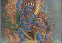 傳說中的佛教護法金剛手菩薩究竟是怎樣的形象