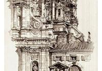 pinterest建築手繪圖
