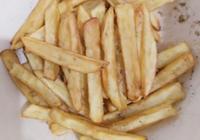 甩肯德基薯條几條街的自制薯條