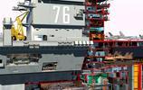 尼米茲級航空母艦核動力裝置結構透視圖