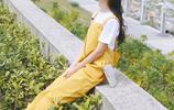 時尚個性揹帶褲,沒有大長腿也能穿出大長腿的即視感