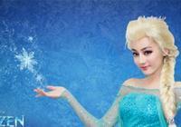 張柏芝熱巴cos冰雪女王造型美如畫,而袁姍姍是來搞笑的?