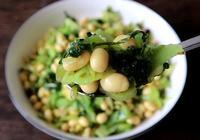 芥菜炒黃豆最好吃的做法,這樣做芥菜不苦黃豆香脆,超級好吃下飯