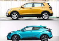 大眾T-Cross對比豐田C-HR,誰才是最有個性的小型SUV?