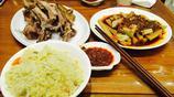 去外地出差,客戶請吃手抓羊肉,一斤88元,兩個人吃了206元
