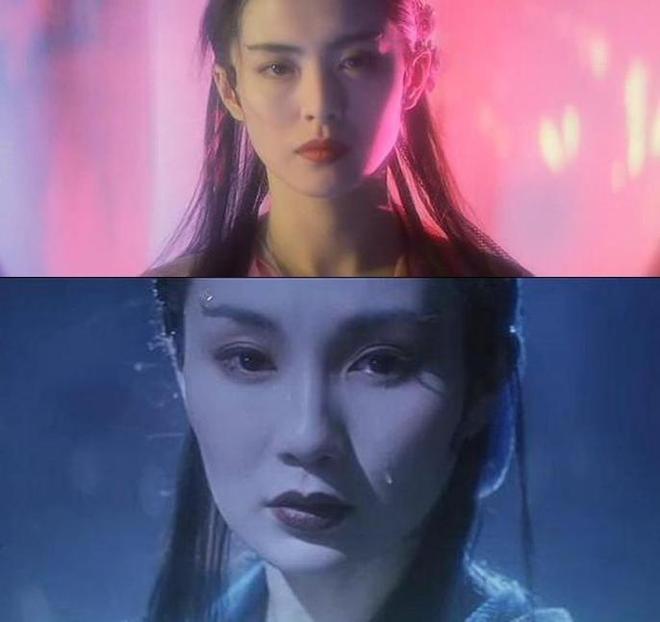 《青蛇》中女神張曼玉 、王祖賢的一顰一笑驚為天人 百看不厭