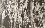 """清代""""碧雲寺""""影像,由英法聯軍記者拍攝,感覺石雕真的很精美"""