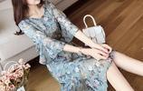 普通的連衣裙已過時,一襲輕盈飄逸的雪紡連衣裙,凸顯優雅氣質