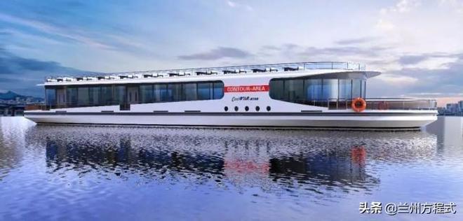 蘭州終於要有自己的豪華遊艇船了 徹底告別小快艇