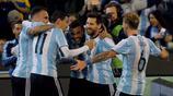 足球——友誼賽:阿根廷勝巴西