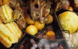 118元的牛肉沖天,雜糧做的主食比大魚大肉還要香,大夥全吃光了