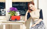 女演員李依曉溫暖微笑春光燦爛浪漫寫真