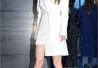韓藝瑟亮相活動高貴典雅 穿白裙氣質幹練